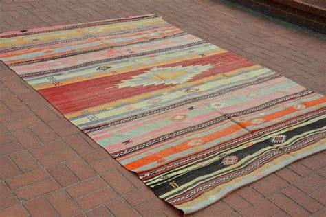 teppich türkis vintage 6x9 turkish kilim rug vintage kilim rug boho rug