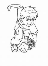 Ben Coloring Pages Printable Cool sketch template