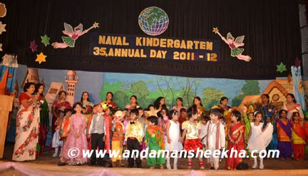 annual day celebrated by naval kindergarten andaman sheekha 453 | sheekha050320122