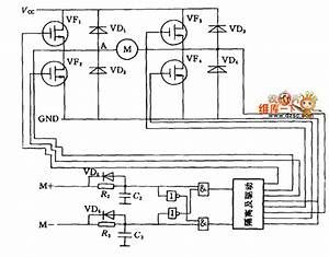 Dc Motor Bridge Drive Circuit Diagram