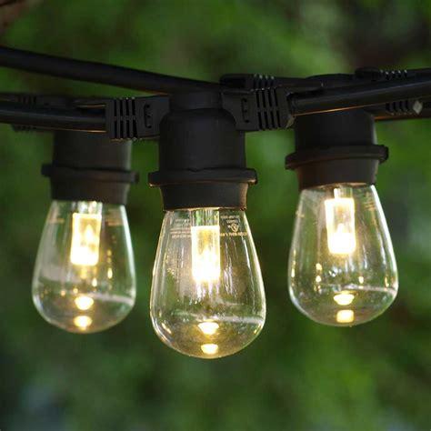 led string lights outdoor c9 string lights custom length black