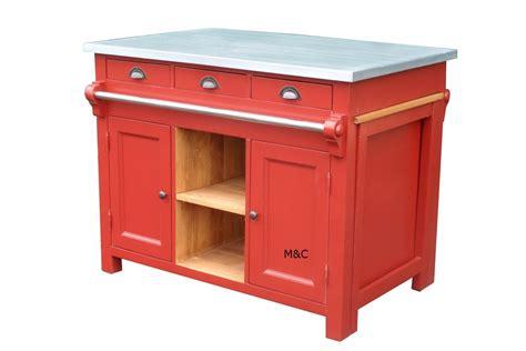meuble cuisine central ilt central de cuisine d 39 autrefois dessus zinc