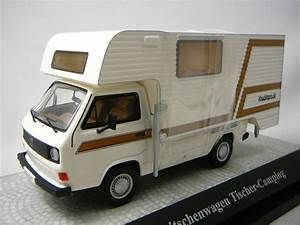 Camping Car Volkswagen : volkswagen t3a camping car tischer miniature 1 43 premium ~ Melissatoandfro.com Idées de Décoration