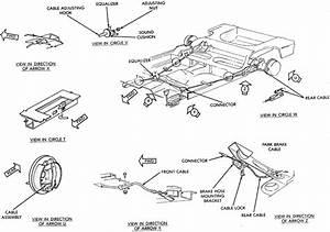 I Have A Dodgeconv  The Central Parking Brake Cable Broke
