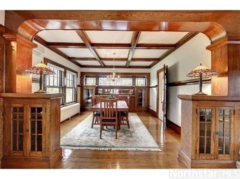 1910 Craftsman   Chisago City, MN. The cabinets and