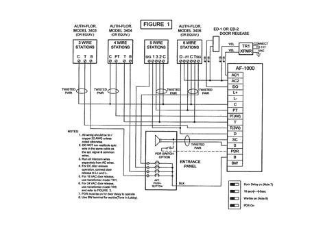 Nutone Intercom Wiring Diagram Free