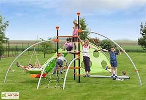 Aire De Jeux Extérieur Pas Cher : jeux d 39 ext rieur aire de jeux portique trampoline mon ~ Preciouscoupons.com Idées de Décoration