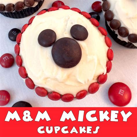 mm mickey cupcakes  sisters crafting