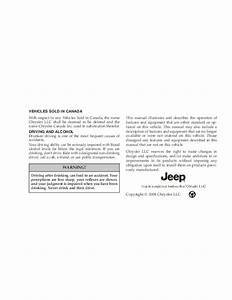 2009 Jeep Grand Cherokee Owners Manual