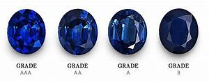 Eye Color Rarity Chart Natural Sapphire Grading Certification Sapphire Education