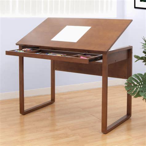 computer desk wood studio designs studio designs ponderosa 24 quot x 42 quot wood drawing table 13285