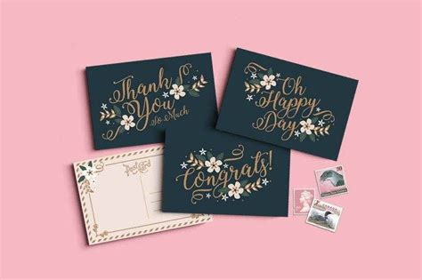 small greeting card designs templates psd ai