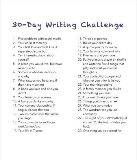 Personal Challenge Essay Ideas For Kids