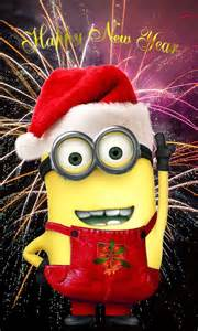 Minion Happy New Year 2017