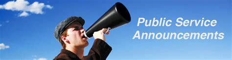 Public Service Announcements  Wmv Productions