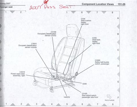 power heated seat wiring info    mustang source