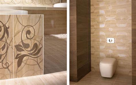amiche amici beige marron carrelage salle de bains inspir 233 par et bois avec un motif