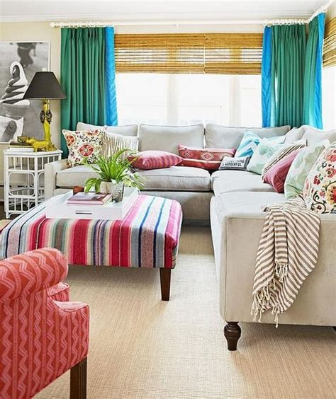 Colorful Living Room Escape by 50 Energetic And Colorful Living Room Design Ideas