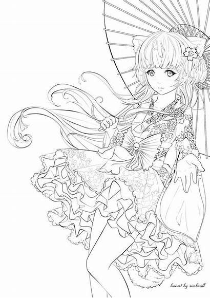 Manga Coloriage Dessin