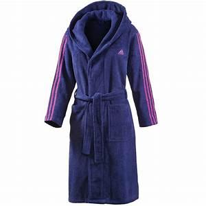 Bademantel Damen Adidas : adidas 3 stripes bathrobe damen bademantel s20702 w purple pink fun sport vision ~ Orissabook.com Haus und Dekorationen