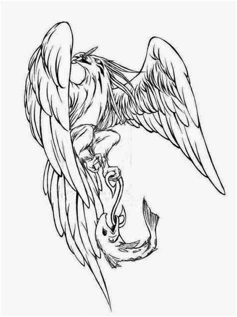 tattoos book   printable tattoo stencils eagle