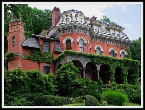 Haunted Attractions In Nj And Pa by The Packer Mansion Dominates The Hill Photo Michael