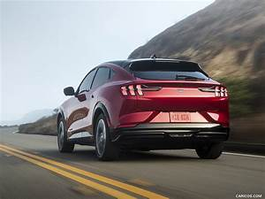 2021 Ford Mustang Mach-E - Rear Three-Quarter | HD Wallpaper #50