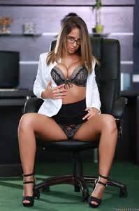 Layla London Is Nude In Her Office MILF Fox
