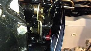 1996 Evinrude 150 Shift Switch Problem