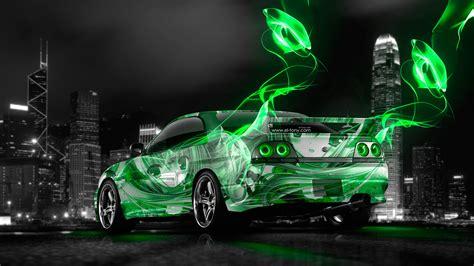 We present you our collection of desktop wallpaper theme: Nissan Skyline GTR R33 JDM Anime Aerography City Car 2014 ...