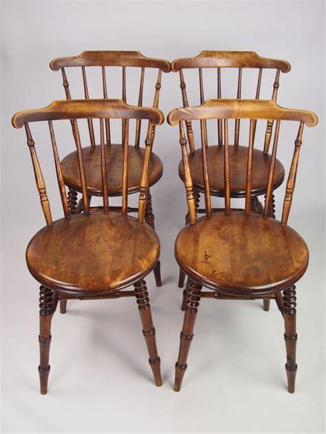 set  antique pine kitchen chairs