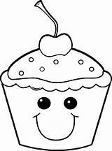 Cute Muffin Getdrawings Drawing sketch template