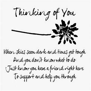 Thinking of You • hard times   Cards • Verses & Sentiments ...