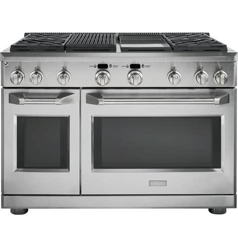 monogram   gas professional range   burners grill  griddle liquid propane