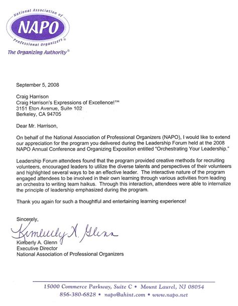 sample recommendation letter  employee employment