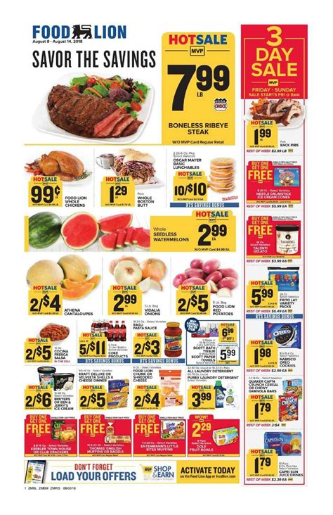food lion weekly ad flyer january    food