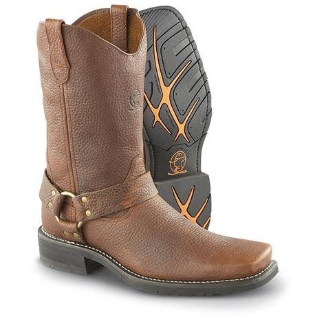 brown motorcycle boots for men men 39 s durango boot harness boots brown 180664