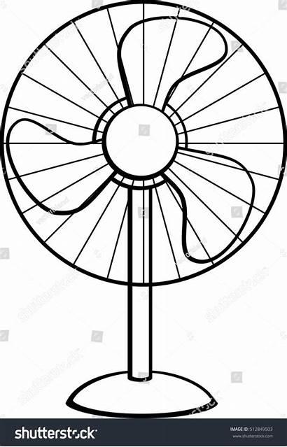 Fan Pedestal Vector Shutterstock