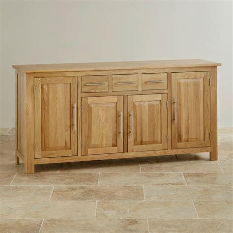 Oak Furniture Sideboard by Rivermead Solid Oak Large Sideboard Oak