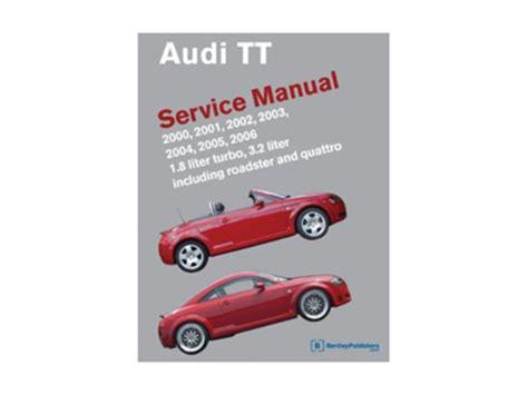 how to download repair manuals 2011 audi tt electronic throttle control audi tt stuff bks at06 bentley official audi tt repair manual 2000 2006 hardcover