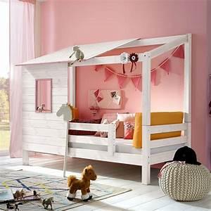 Kinderbett Mit Rausfallschutz 90x200 : abenteuerbett aus massivholz f r m dchen kids paradise ~ Watch28wear.com Haus und Dekorationen