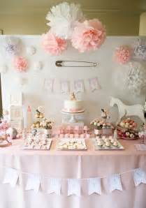 Girl Baby Shower Table Ideas
