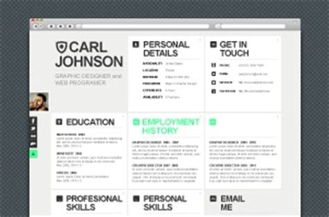 premium and free web html resume template pixeden