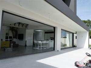maison contemporaine dompierre sur mer With amenagement d une terrasse exterieure 11 avant apras une maison julien rhinn