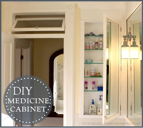 diy recessed medicine cabinet diy bath remodel diy medicine cabinet
