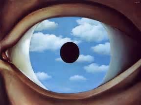 Scrying Mirror by Rene Magritte Baskıloji Online Baskı Merkez Online