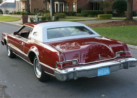 RARE MOONROOF DESIGNER SERIES - 1976 Lincoln Mark IV Pucci ...