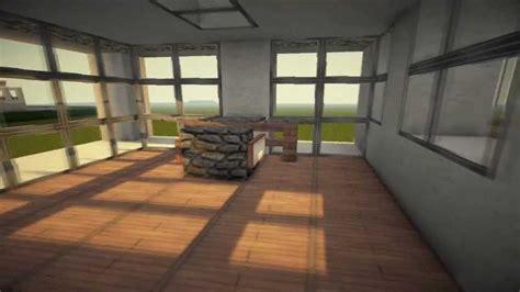 minecraft modern house 2 interior reved hd