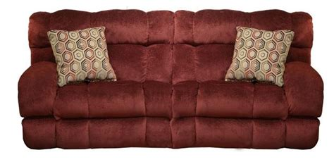 Catnapper Sleeper Sofa by Siesta Sleeper Sofa In Quot Wine Quot Color Fabric By