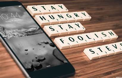 Stay Hungry Foolish Wallpaperaccess Mobile Wallpapers